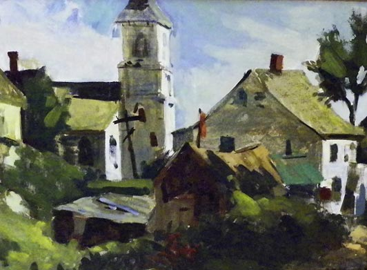 Cleaves Street, Rockport, Mass by William Millett