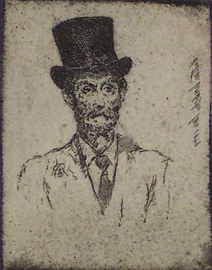 "Print: ""The Top Hat"" by Hutton Webster, Jr., dated 1939"