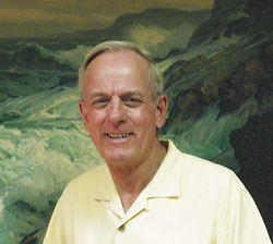 Wayne Kielsmeier, owner of Covington Fine Arts Gallery